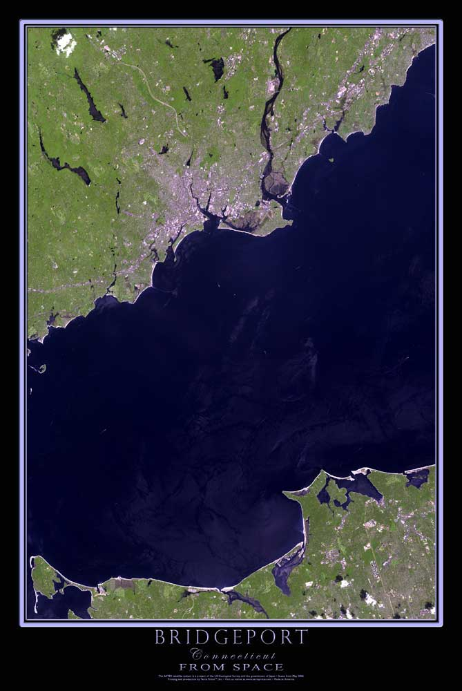 Bridgeport ct satellite map